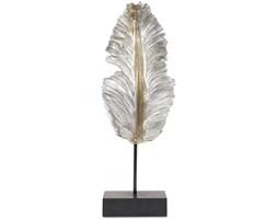 Dekoracja Feather, Rozmiar: 46 x 11 x 7 cm Kolor: ciemnoszary Materiał: aluminium