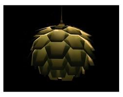Beliani Lampa wisząca zielona SEGRE mała