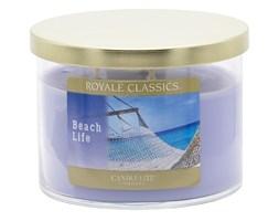 Świeca zapachowa Candle-lite trzy knoty - Beach Life