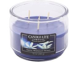 Świeca zapachowa Candle-lite trzy knoty 283 g - Exotic Midnight Petals