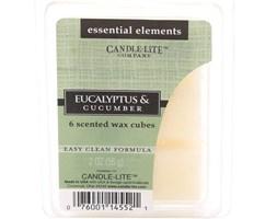 Wosk zapachowy Candle-lite Essential Elements olejek eteryczny - Eucalyptus & Cucumber