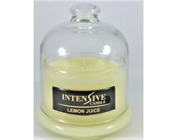 INTENSIVE COLLECTION 100% Soy Wax Premium Candle B1 Jar świeca zapachowa w szkle z kloszem 100% wosk sojowy - Lemon Juice