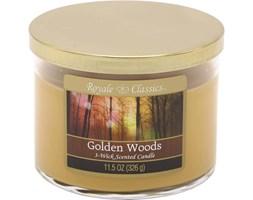 Świeca zapachowa Candle-lite trzy knoty - Golden Woods