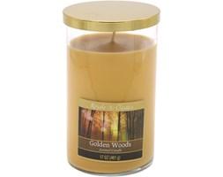 Świeca zapachowa Candle-lite duża tumbler - Golden Woods