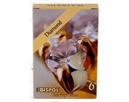 Bispol Scented Tealights podgrzewacze zapachowe ~ 4 h 6 szt - Diamond