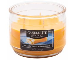 Świeca zapachowa Candle-lite trzy knoty 283 g - Orange Vanilla Dreamsicle