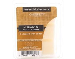 Wosk zapachowy Candle-lite Essential Elements olejek eteryczny - Nutmeg & Oudwood