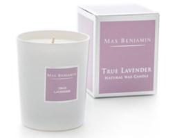 Max Benjamin Kolekcja Klasyczna świeca zapachowa w szkle handmade - True Lavender