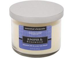 Świeca zapachowa Candle-lite Essential Elements naturalna olejki eteryczne - Juniper & Rosewood