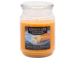 Świeca zapachowa Candle-lite duża w szkle 510 g - Orange Vanilla Dreamsicle