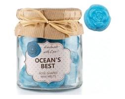 OWN Candles Boxed Wax Melts wegetariański wosk zapachowy w ozdobnym słoiku 18 szt - Ocean's Best