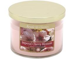 Świeca zapachowa Candle-lite trzy knoty - Imperial Cherry Blossom