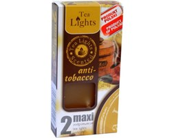 Admit Scented Maxilights podgrzewacze zapachowe typu maxi 59 mm ~ 10 h 2 szt - Anti-tobacco