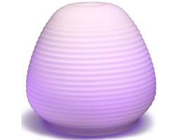 Madebyzen Glass Ultrasonic Aroma Diffuser With White Light Aria lampa szklana ultradźwiękowa zapachowa do aromaterapii - Biała 55066149420 SET