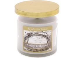 Świeca zapachowa Candle-lite tumbler - Amber Teakwood