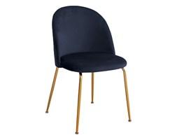 Krzesło FLO granat / złoty