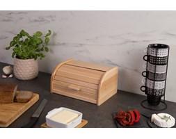 Chlebak z drewna bukowego, drewniany pojemnik na chleb, chlebak retro, pojemnik na pieczywo, chlebak, akcesoria kuchenne, Kesper