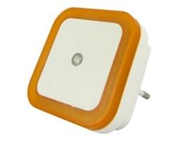 LED Nocne światełko do gniazdka LED/0,5W/230V pomarańczowe