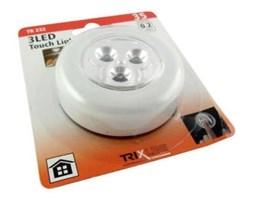 LED Nocne światło dotykowe LED/0,2W/3xAAA biała