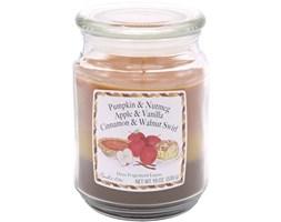 Trójzapachowa świeca zapachowa Candle-lite duża 538 g - Pumpkin Nutmeg Apple Vanilla Cinnamon Walnut Swirl
