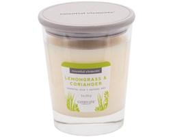 Świeca zapachowa Candle-lite Essential Elements naturalna olejki eteryczne - Lemongrass & Coriander