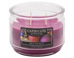 Świeca zapachowa Candle-lite trzy knoty 283 g - Deck The Halls