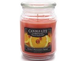 Świeca zapachowa Candle-lite duża w szkle 510 g - Sunlit Mandarin Berry
