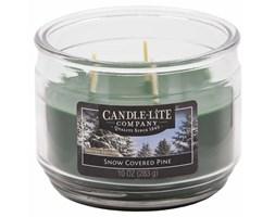 Świeca zapachowa Candle-lite trzy knoty 283 g - Snow Covered Pine