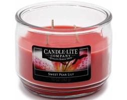 Świeca zapachowa Candle-lite trzy knoty 283 g - Sweet Pear Lily