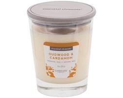 Świeca zapachowa Candle-lite Essential Elements naturalna olejki eteryczne - Oudwood & Cardamom