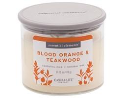 Świeca zapachowa Candle-lite Essential Elements naturalna olejki eteryczne - Blood Orange & Teakwood