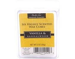 Wosk zapachowy Candle-lite Essential Elements olejek eteryczny - Vanilla & Sandalwood