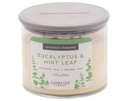 Świeca zapachowa Candle-lite Essential Elements naturalna olejki eteryczne - Eucalyptus & Mint Leaf