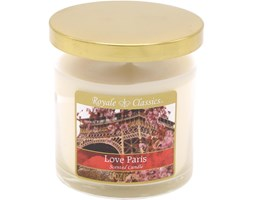 Świeca zapachowa Candle-lite tumbler - Love Paris