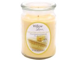 Świeca zapachowa Candle-lite sojowa duża 538 g - Lemon Cake & Vanilla Swirl