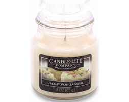 Świeca zapachowa Candle-lite świeczka 85 g - Creamy Vanilla Swirl