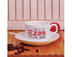 Filiżanka z nadrukiem- zawsze jest czas na kawę