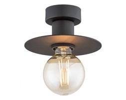 CORSO lampa przysufitowa 1 x 15W E27 czarna prosta loftowa jednopunktowa ARGON 3882
