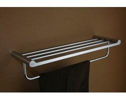 Półka na ręczniki z relingiem Art Platino Doreo DOR-97012