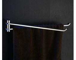 Wieszak na ręczniki dwuramienny Art Platino Liwio LIW-56025