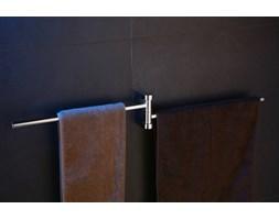 Wieszak na ręczniki dwuramienny Art Platino Doreo DOR-97025