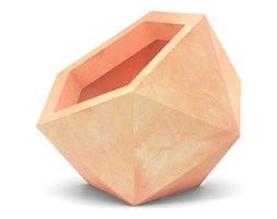 Donica asymetryczna PD Concept Dione 53 cm, terakota