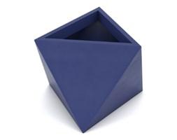 Doniczka Eos 50 cm, z podwójnym dnem, niebieska