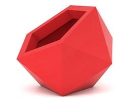 Donica asymetryczna PD Concept Dione 53 cm, czerwona