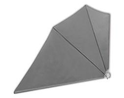 vidaXL Składany parawan tarasowy, szary, 160x210 cm
