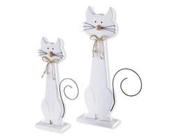 Dekoracyjne figurki kotów Jule & Merle (2 części)