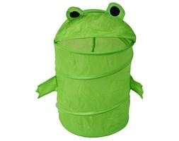 Pojemnik do przechowywania zabawek, prania, kosz tekstylny zielony M-27-02 żaba