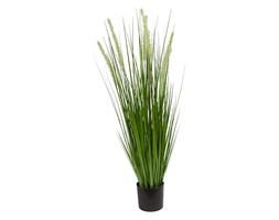 Sztuczna trawa roślina w doniczce do salonu biura Trawa Dogtail-2 90 cm TR-DOG2-090-I