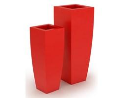 Donica z polietylenu JUNO PL-JU92-PD czerwony