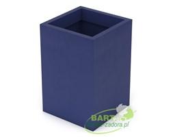 Donica z polietylenu QUADRI PL-QU60 niebieski